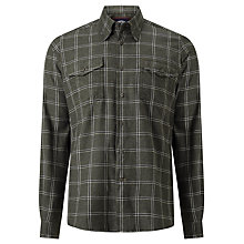 Buy Barbour Argus Cotton Shirt, Olive Online at johnlewis.com