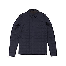 Buy Denham Airquilt Shirt Jacket, Dark Navy Online at johnlewis.com
