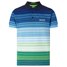 Buy BOSS Green Paddy Pro 1 Polo Shirt, Navy Online at johnlewis.com