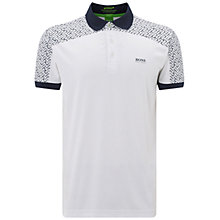Buy BOSS Green Pro Golf Paddy 2 Polo Shirt, White Online at johnlewis.com