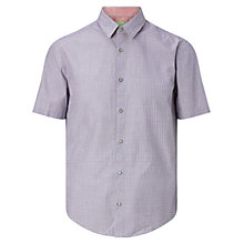 Buy BOSS Green C-Busterino Shirt, Medium Red Online at johnlewis.com