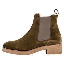 Buy Unisa Druina Block Heeled Ankle Boots Online at johnlewis.com