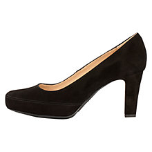 Buy Unisa Numar Cone Heeled Court Shoes Online at johnlewis.com
