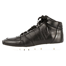 Buy Unisa Barile Lace Up Trainers, Black Online at johnlewis.com