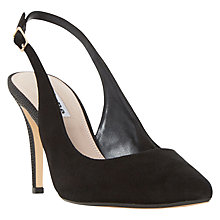 Buy Dune Cathy Sling Back Stiletto Court Shoes Online at johnlewis.com