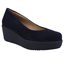 Buy Unisa Forano Flatform Pumps, Baltic Online at johnlewis.com
