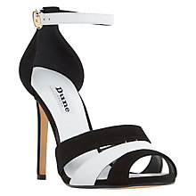 Buy Dune Magpie Stiletto Heeled Sandals Online at johnlewis.com