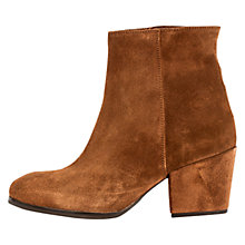Buy Unisa Lacon Western Ankle Boots, Tobacco Online at johnlewis.com