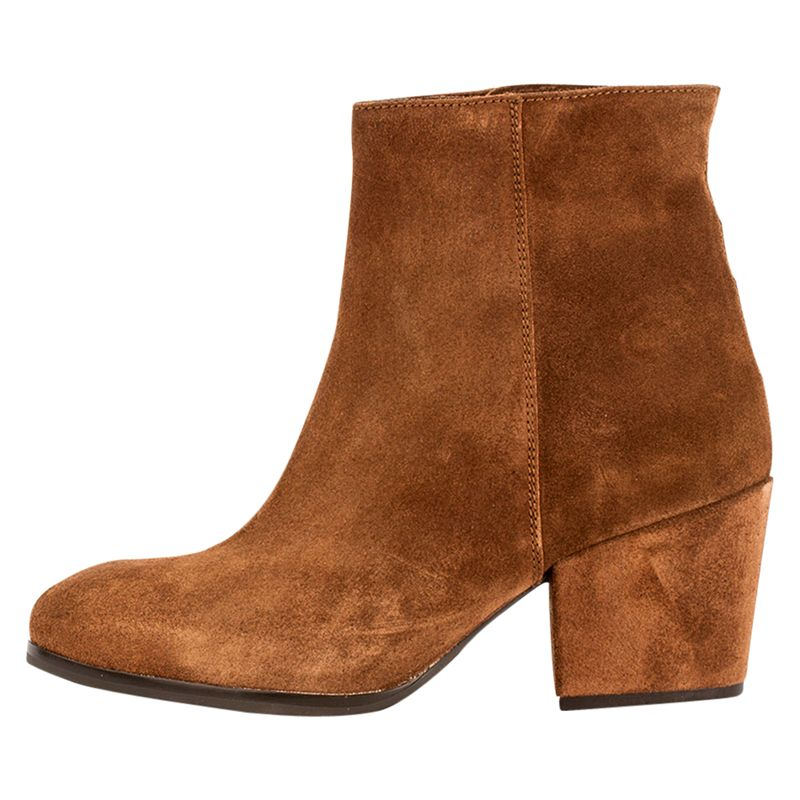 Unisa Unisa Lacon Western Ankle Boots, Tobacco