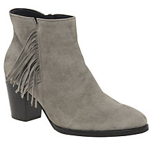 Buy Gabor Strum Tassel Ankle Boots, Rust Online at johnlewis.com