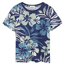 Buy Mango Kids Boys' Hawaiian T-Shirt Online at johnlewis.com