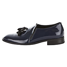 Buy Finery Embrook Italian Tassel Loafers, Navy Online at johnlewis.com
