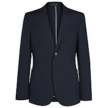 Buy Reiss Proud Patch Pocket Blazer, Navy Online at johnlewis.com