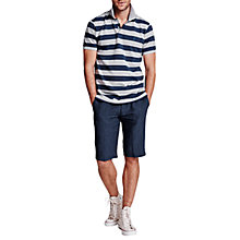 Buy Thomas Pink Waterman Check Linen Shorts, Navy/Blue Online at johnlewis.com