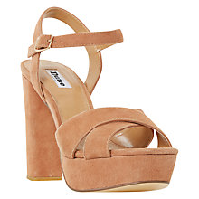 Buy Dune Mexico Platform Block Heeled Sandals Online at johnlewis.com