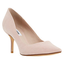 Buy Dune Audrena Stiletto Heeled Court Shoes, Blush Online at johnlewis.com