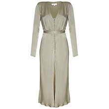 Buy Ghost Meryl Dress, Lint Green Online at johnlewis.com