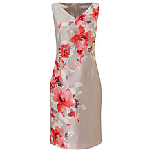 Buy Jacques Vert Petite Placement Print Dress, Multi Online at johnlewis.com
