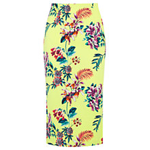 Buy Oasis Tropical Pencil Skirt, Multi Online at johnlewis.com