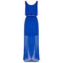 Buy Phase Eight Elsa Silk Maxi Dress, Cobalt Online at johnlewis.com
