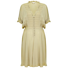 Buy Ghost Naomi Dress, Lint Green Online at johnlewis.com