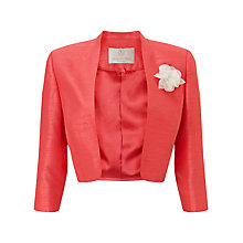 Buy Jacques Vert Petite Bolero, Orange Online at johnlewis.com