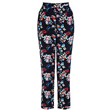 Buy Oasis Tropical Print Trousers, Multi Online at johnlewis.com