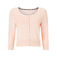 Buy Jacques Vert Cute Cardigan, Light Pink Online at johnlewis.com