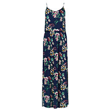 Buy Oasis Malay Maxi Dress, Navy Online at johnlewis.com