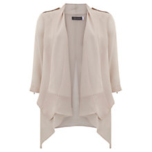 Buy Mint Velvet Organic Jacket, Pale Pink Online at johnlewis.com
