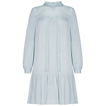 Buy Ghost Isabelle Dress, Whisper Blue Online at johnlewis.com