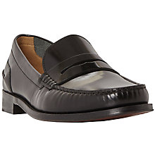 Buy Bertie Randsom Leather Penny Saddle Loafers Online at johnlewis.com