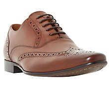 Buy Dune Raymond Brogue Derby Shoes, Tan Online at johnlewis.com