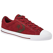 Buy Converse Star Player Suede Trainers Online at johnlewis.com