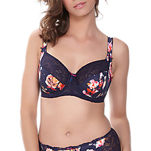 Buy Fantasie Darcie Side Support Underwired Bra, Ink Online at johnlewis.com