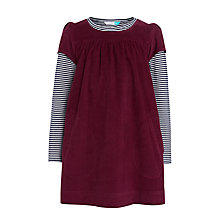 Buy John Lewis Corduroy Dress and T-Shirt Set Online at johnlewis.com