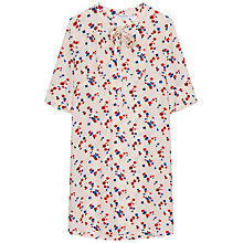 Buy Gerard Darel Floral Robe Dress, Beige Online at johnlewis.com