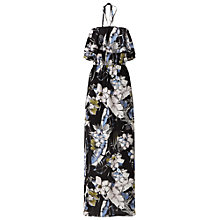 Buy Miss Selfridge Ruffle Halter Dress, Multi Online at johnlewis.com