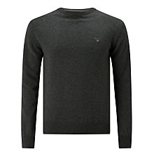 Buy Gant Superfine Lambswool Jumper Online at johnlewis.com