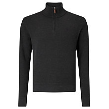 Buy Gant Sacker Rib Half Zip Jumper Online at johnlewis.com