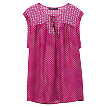Buy Violeta by Mango Mixed Print Blouse Online at johnlewis.com