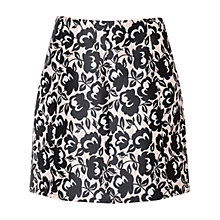 Buy True Decadence Floral Brocade A-Line Skirt, Pink/Black Online at johnlewis.com
