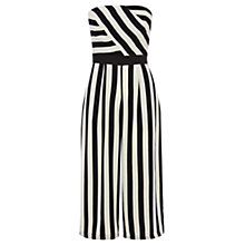Buy Coast Selena Stripe Jumpsuit, Mono Online at johnlewis.com
