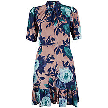 Buy Closet Floral Gathered Hem Dress, Multi Online at johnlewis.com