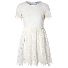 Buy True Decadence Crochet Lace Skater Dress, White Online at johnlewis.com
