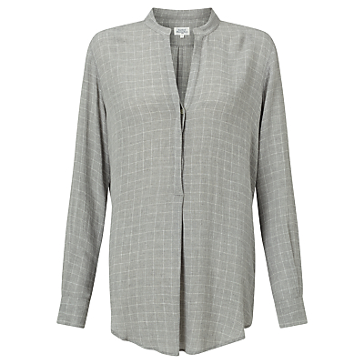 Hartford Colonne Blouse, Grey