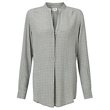 Buy Hartford Colonne Blouse, Grey Online at johnlewis.com