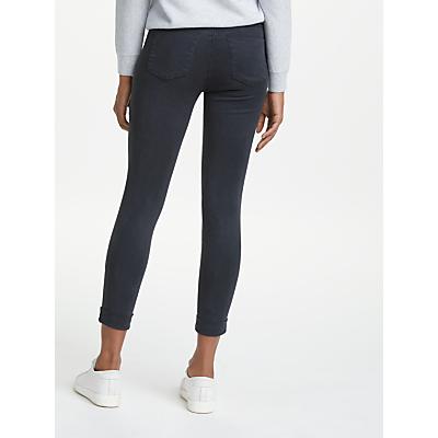 J Brand Anja Luxe Sateen Skinny Jeans, Dark Navy