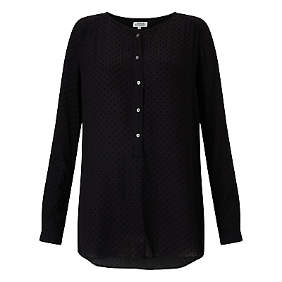 Hartford Henri Blouse, Black