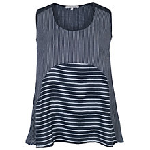 Buy Chesca Mixed Stripe Linen Cami Online at johnlewis.com